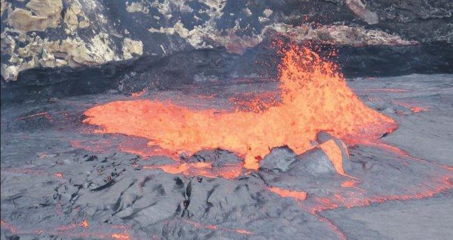 Hawaii'deki korkutan faaliyet