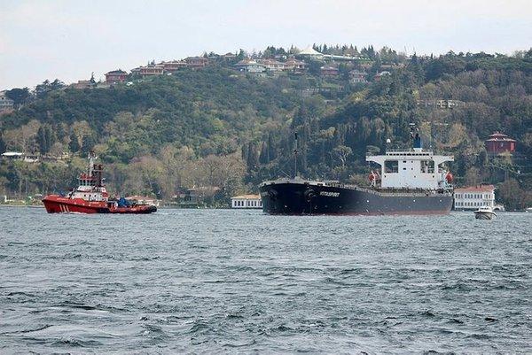 İstanbul Boğazı'nda unutulmayan kaza