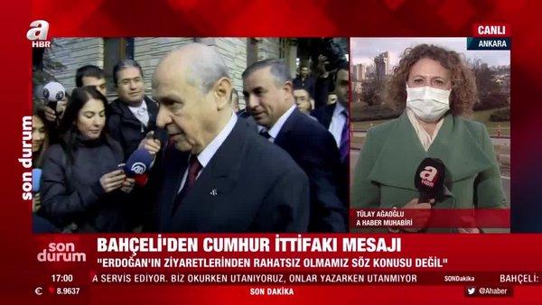 MHP Lideri Bahçeli'denCumhur İttifakı mesajı | Video