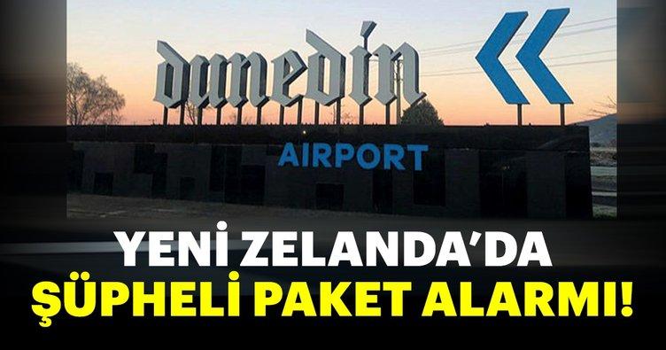 Son Dakika: Yeni Zelanda'da şüpheli paket alarmı!