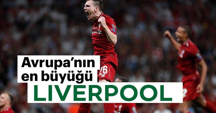 Avrupa'nın en büyüğü: Liverpool