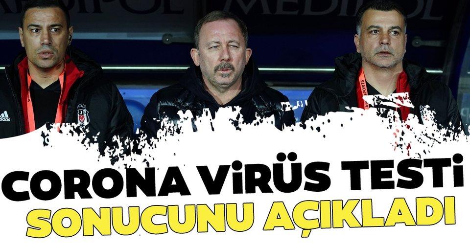 Beşiktaş Yardımcı Antrenörü Çağdaş Atan corona virüsü testi sonucunu açıkladı