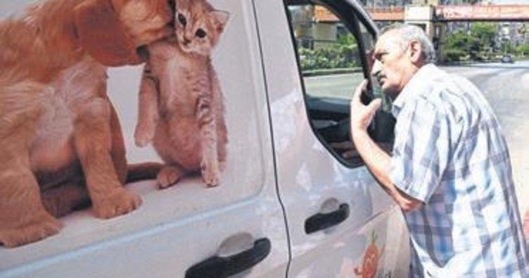Kendisini ısıran köpeği belediye ekibine yakalattı