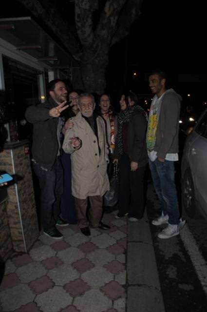 Aydemir Akbaş'ın maç keyfi