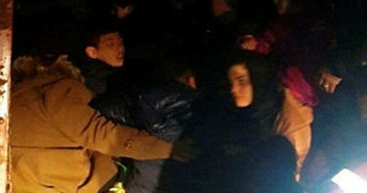 Çanakkale'de 40 yabancı uyruklu yakalandı