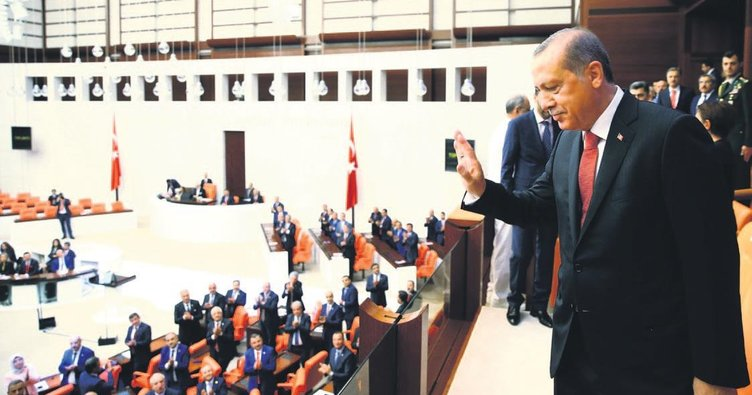 Tarihi oturuma Erdoğan da katıldı