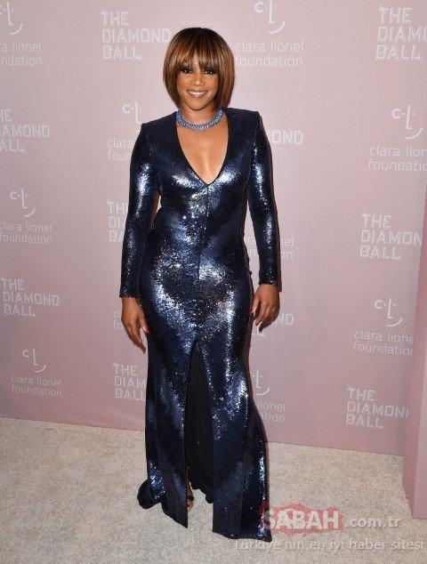 Rihanna etkinlik düzenledi! Giydiği kıyafet olay oldu