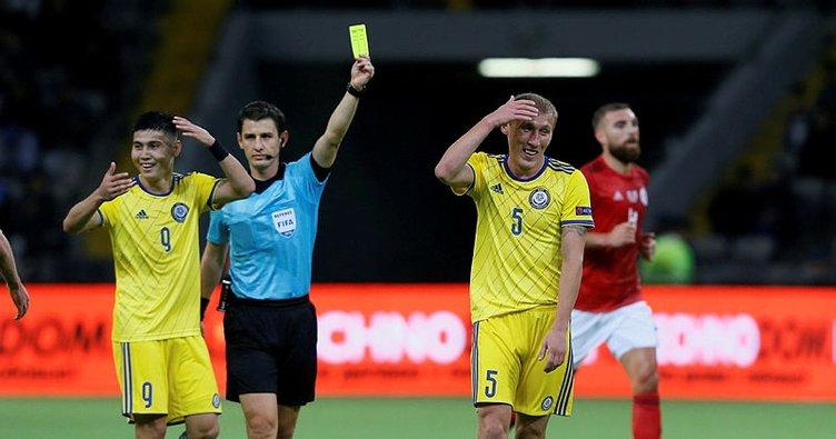 Halil Umut Meler'in yönettiği maçta kazanan Gürcistan