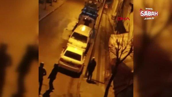 İstanbul'da sokak ortasında kadına şiddet dehşeti! Bayıltana kadar öldüresiye dayağı film izler gibi böyle seyrettiler