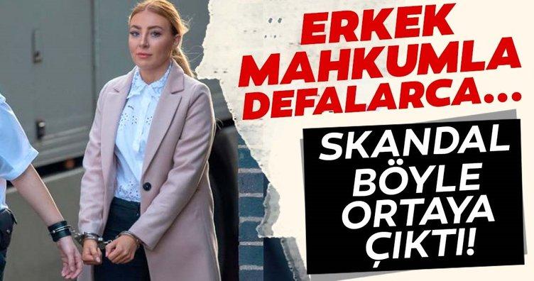 Ülkeyi karıştırdı! Kadın gardiyan erkek mahkumla ilişki yaşamaktan tutuklandı