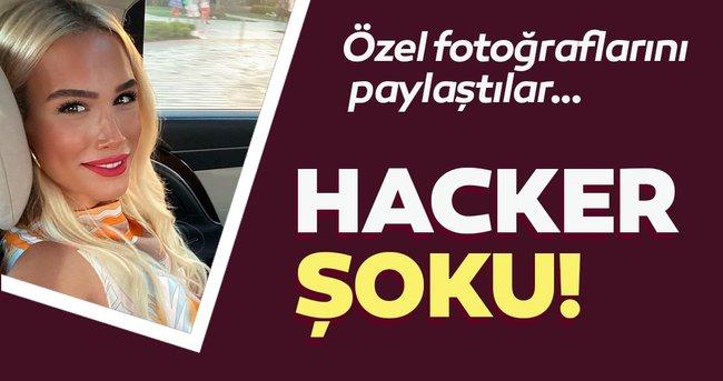 Kardelen Acar'a hacker şoku! Özel fotoğraflarını paylaştılar..