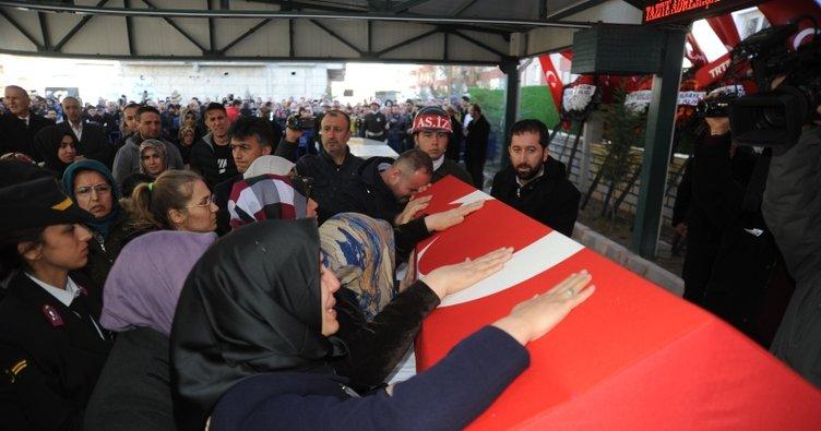 Şehit Astsubay Yakup Avşar, son yolculuğuna uğurlandı