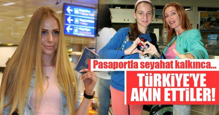 Ukrayna'dan Türkiye'ye 1 milyon turist geldi