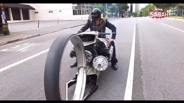 Rolls-Royce uçak motorundan motosiklet yaptı!