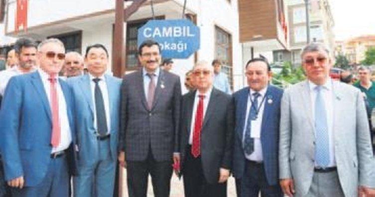 Keçiören'e Jambıl Jabayev Sokağı