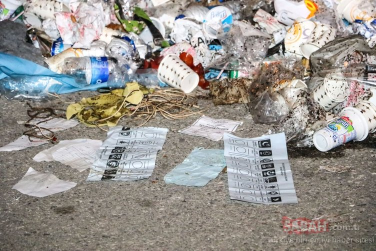 Antalya'da çöp kutusundan mühürlü oy pusulası çıktı