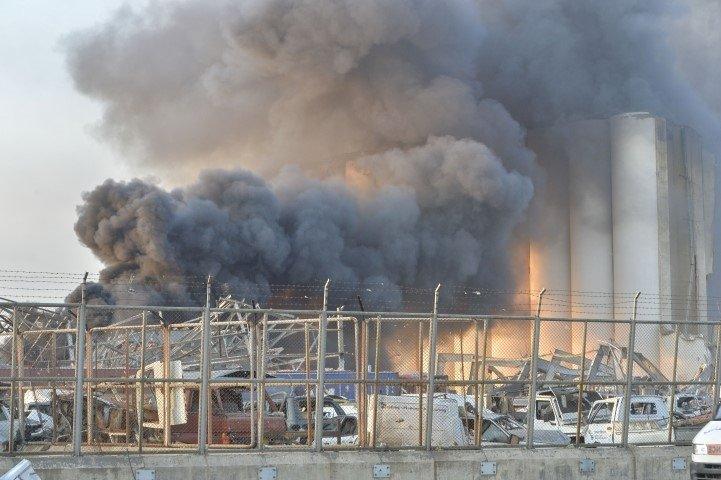 Lübnan'da şiddetli patlama! Beyrut'taki patlama ile ilgili yeni gelişme...