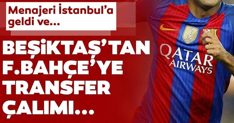 Son dakika transfer haberleri: Beşiktaş'tan Fenerbahçe'ye transfer çalımı