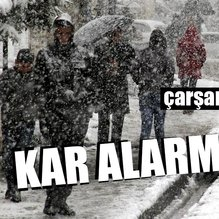Meteoroloji'den hava durumu uyarısı! Kar yağışı geliyor