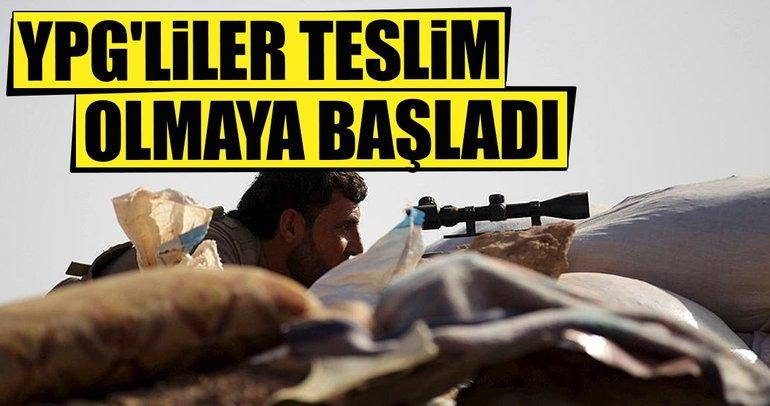 YPG'liler teslim olmaya başladı