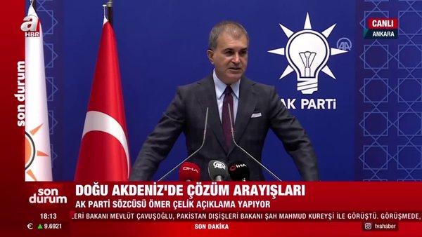 AK PartiSözcüsüÖmer Çelik: