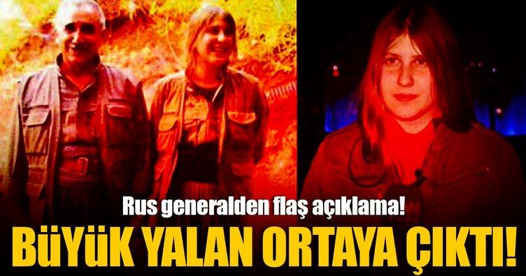 Rus General PKK'nın yalanını deşifre etti