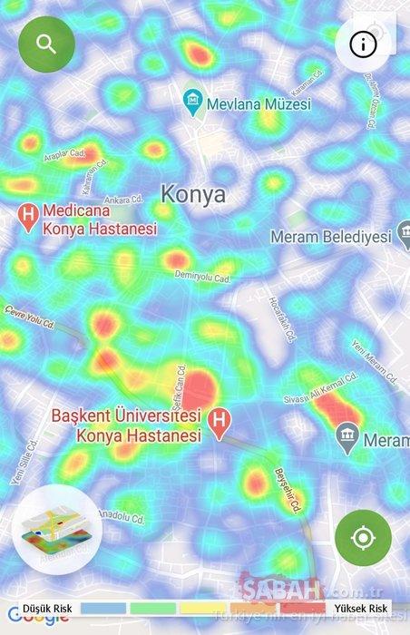 Son dakika haberi: Koronavirüs risk haritasında korkutan görüntü! Bu illerde yaşayan vatandaşlar dikkat