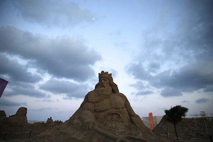 10. Uluslararası Kum Heykel Festivali başladı