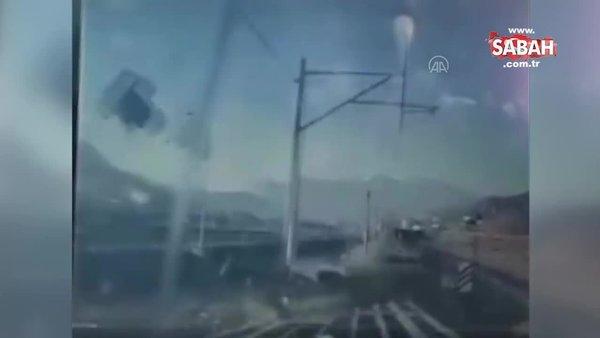 SON DAKİKA: Adana'daki tren kazasının görüntüleri ortaya çıktı!