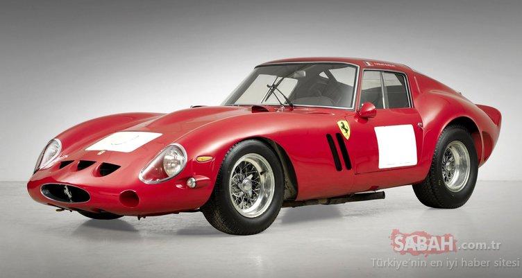 1963 Ferrari 250 GTO 70 milyon dolara satıldı!