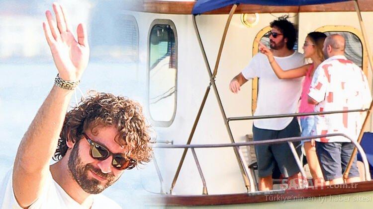 Birkan Sokullu'nun sevgilisi Eda Gürkaynak'tan sürpriz doğum günü! Sevgilisiyle teknede böyle görüntülendi!