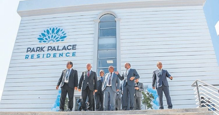 Park Palace Residance hizmete açıldı