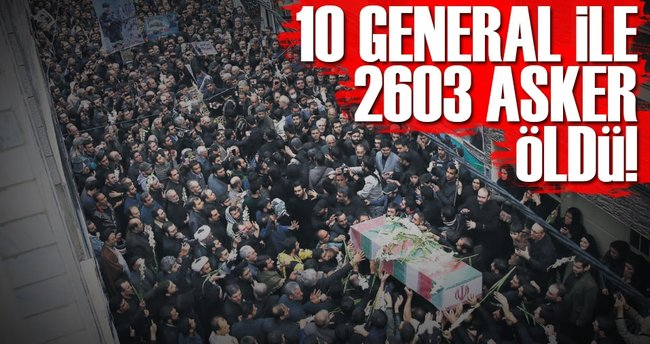 10 general ile 2603 asker öldü