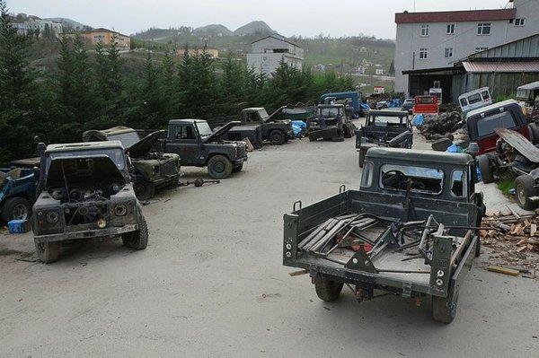 Eski askeri araçlar yeniden ekonomiye kazandırılıyor!