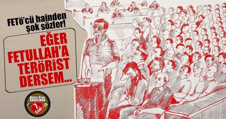 Son dakika: FETÖ'cü hain Ömer Faruk Harmancık'tan şok sözler