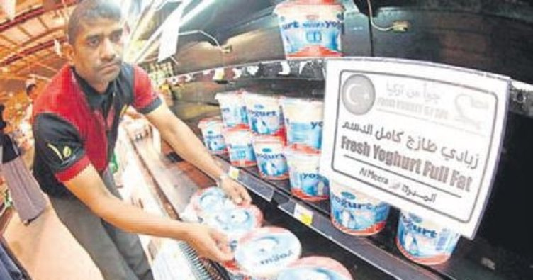 Katar'a 1 ayda 15 bin ton ihracat yapıldı