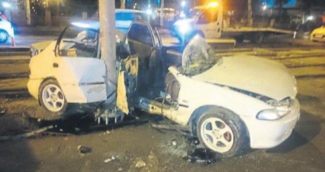Feci kazada 22 yaşındaki genç öldü