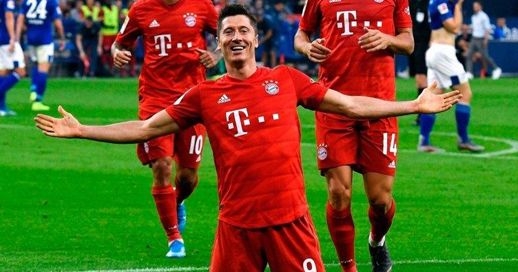 Robert Lewandowski coştu, Bayern Münih rahat kazandı