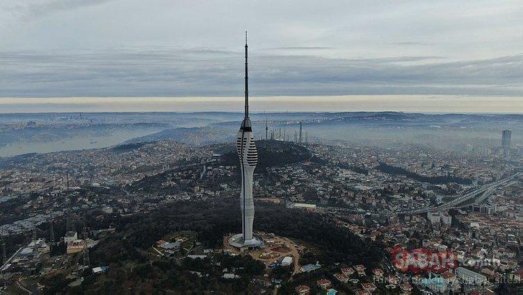 İstanbul'un sembollerinden biri olacak! Başkan Erdoğan Çamlıca Kulesi'ni yerinde inceledi