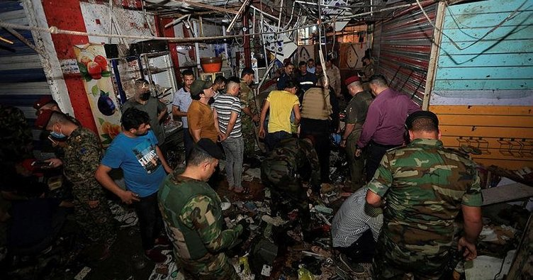 Son dakika! Bağdat'ta patlama: 33 kişi hayatını kaybetti