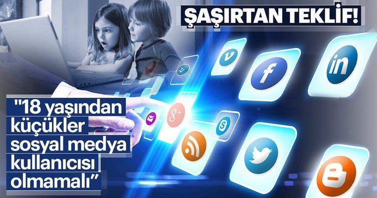 18 yaşından küçükler sosyal medya kullanıcısı olmamalı