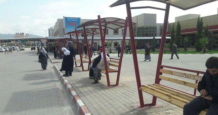 Belediyeden hastane bahçesine vatandaşları rahatlatan çalışma