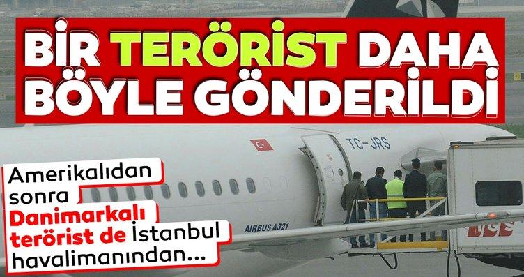 Danimarkalı terörist savaşçı ülkesine gönderildi