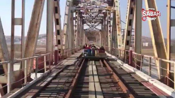 Rus diplomatların Kuzey Kore'den dönüş anları gündem oldu | Video