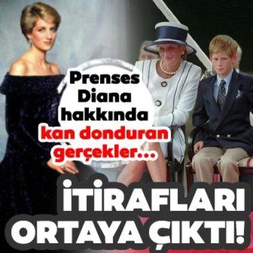 Prenses Diana'nın itirafı gün yüzüne çıktı! Prenses Diana hakkında şaşırtan gerçekler...