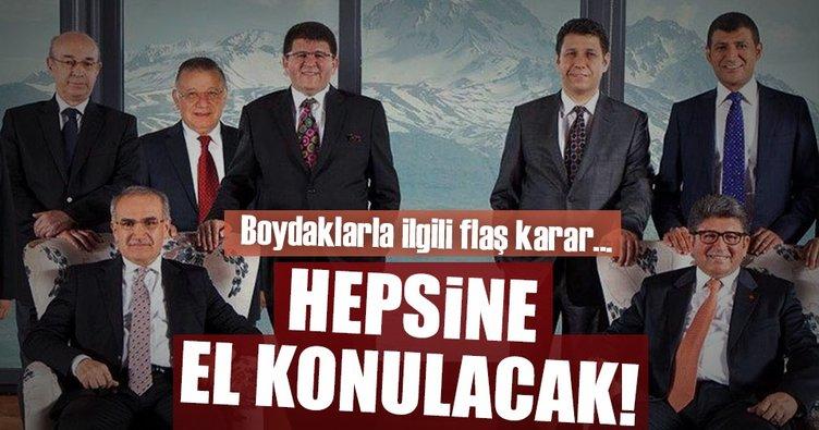Son dakika: Boydak Holding şirketlerine el koyma talebi