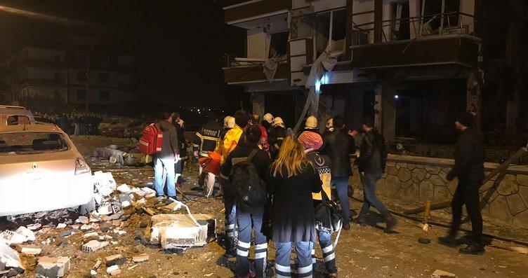 Kırıkkale'de doğalgaz patlaması