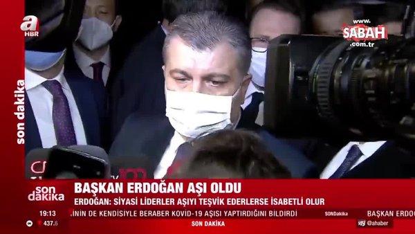 Son dakika haberi: Sağlık Bakanı Fahrettin Koca'dan hastane önünde ilk açıklama | Video