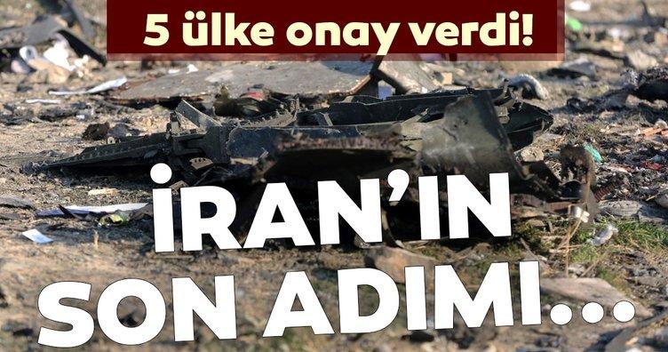İran'da düşen Ukrayna uçağıyla ilgili son dakika gelişmesi! 5 ülke onay verdi! İşte İran'ın son adımı...