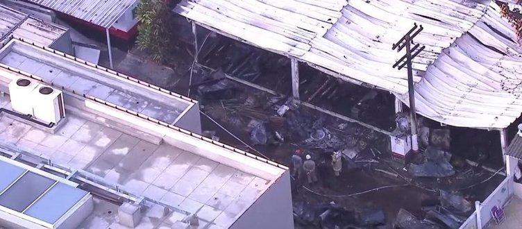 Son dakika! Flamengo'nun tesislerinde yangın faciası